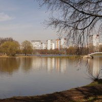 Весна в Москве. :: Олег Чернов