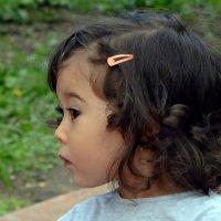 Девочка-казашка, будущая красавица… :: Асылбек Айманов
