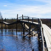 Деревянный мост :: Влад Поляков