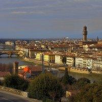 Взгляд на Флоренцию в теплых тонах :: M Marikfoto