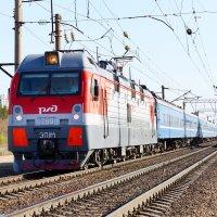 ЭП1М-759,c поездом.. :: Владимир Кознов