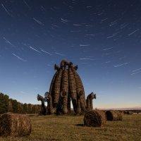 Звездные треки над Бобуром :: Olga Lakeeva