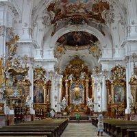 Marienmünster Dießen - Церковь в Диесене, Бавария :: Galina Dzubina