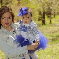 Мама и дочка :: Ирина Короткая