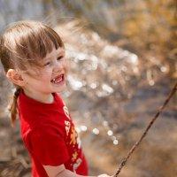 Детство и природа :: Евгения Савина