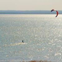 Кайтсерфинг на Плещеевом озере :: Vladislav Gushin