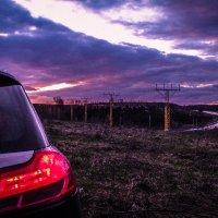 Закат перед посадочной полосой аэропорта :: Тот-Самый Санек