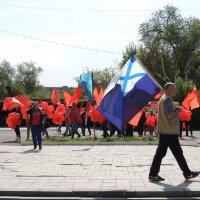 Митинг на майские :: Евгения Чередниченко