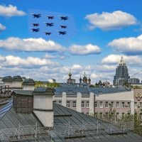 Репетиция парада. Авиация. :: Viacheslav Birukov