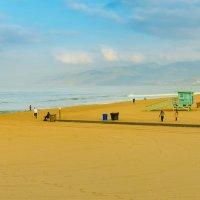 Пляжи Санта Моники в Лос Анжелесе :: Андрей Крючков
