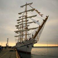 Парусник  Херсонес в порту :: valeriy khlopunov
