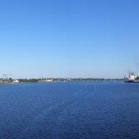 река Даугава в Риге :: Анна Воробьева