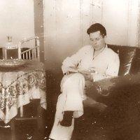 Март 1945 г. На лечении в госпитале после тяжёлого ранения. :: юрий