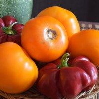 помидор апельсин и перец :: Юрий