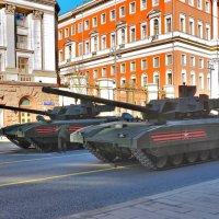 Генеральная репетиция парада Победы в Москве :: Алексей Михалев