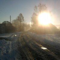 Солнце встает. :: Марина Китаева