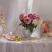 Розовое настроение... :: Валентина Колова