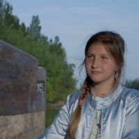 У воды. :: Надежда Парфенова