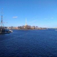 Река Нева и Петропавловская крепость. (Санкт-Петербург). :: Светлана Калмыкова