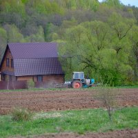 Весна в деревне :: Виктор