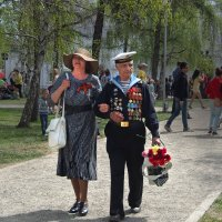 Не стареют душой ветераны... :: Александр Попов