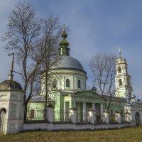 Церковь Святого Илии с. Палищи :: Сергей Цветков