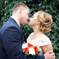 Свадебная фотосессия летом :: Нина Бородина