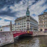 Красный мост :: Valeriy Piterskiy