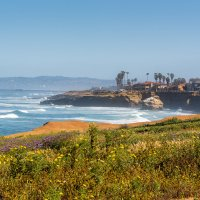 Берег Сан Диего в районе Ла Плайя :: Андрей Крючков