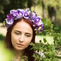 Девушка в веночке :: Светлана Курцева