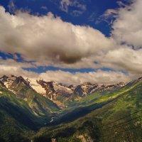 Вершины в облаках :: Ольга СПб