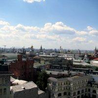 Панорама Москвы с ЦДМ. :: Владимир Драгунский