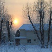 Морозное солнце :: Екатерина Торганская