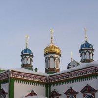 храм святителя Николая (фрагмент) :: Анна Воробьева