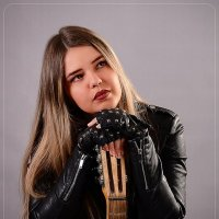 Ася. фотосет с гитарой :: Юрий Сидоров