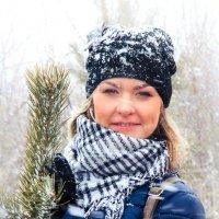 Майский снег, Настя :: Наталья Федорова