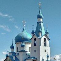 Церковь Рождества Христова в Пулковском парке :: Олег Попков