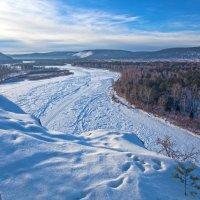 Мороз сковал реку :: Анатолий Иргл