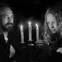 Двойной портрет при свечах :: Алексадр Мякшин