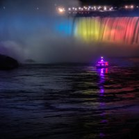 ночной водопад :: Константин Шабалин