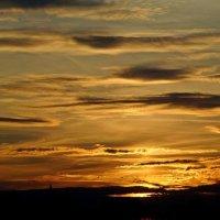 Небо на закате.. :: Антонина Гугаева