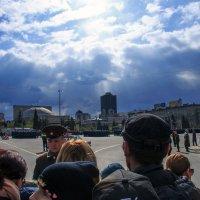 Парад в Новосибирске на 9 Мая. :: Иван Янковский