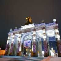 ВДНХ центральный вход :: Юрий Лобачев