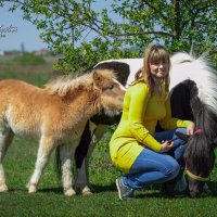 Мария и милые поняшки :: Кристина Щукина