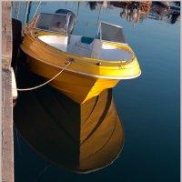 Желтая лодка. :: Lmark