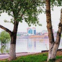 Прогулка по весенней набережной г.Павлодара :: TATYANA PODYMA