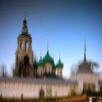 Майские отражения в Толгском монастыре :: Николай Белавин