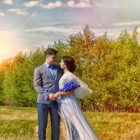 Свадьба в меловых горах Ольховки :: Валентина Ермилова