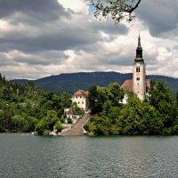 Озеро Блед. Словения :: Tatiana Belyatskaya
