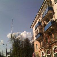 Город и старинные дома. :: Ольга Кривых